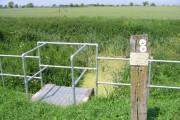View across farmland near Grove Ferry