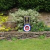 A memorial in the village of Millthorpe,  Derbyshire