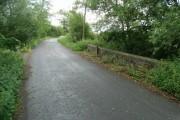 Bridge and boundary post
