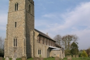 Heveningham church
