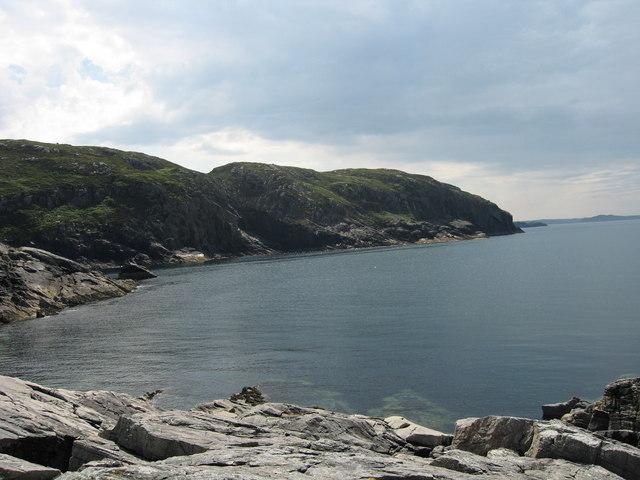 Cliffs near Scourie