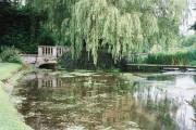 Piddle passes through Athelhampton