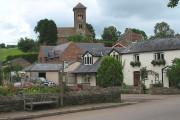 Village scene, Hoarwithy
