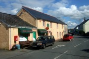 Central Boncath: shop and post office