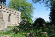 Churchyard at Brailsford Church