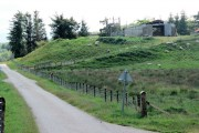 Farm buildings on hillock