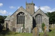 St. Pinnock church, east end