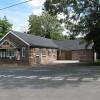 Aston Ingham Village Hall and post box.