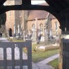 Gate entrance to church