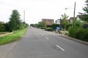 B1040 passes the Lion pub