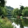 The River Derwent at Matlock Bath