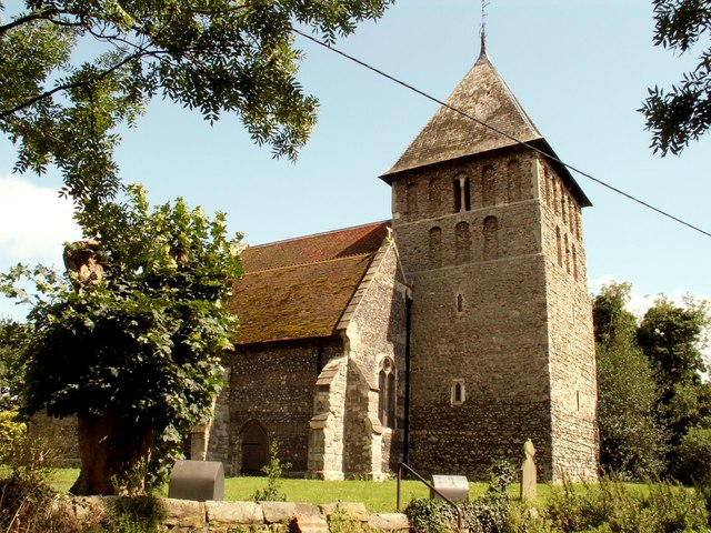 At. Mary's church at Corringham, Essex - © Robert Edwards: http://www.yourlocalweb.co.uk/essex/corringham/