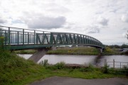 The Ferry Cycle  Bridge near Maghery Country Park