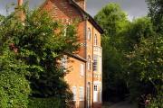 Village street: Woolstone