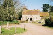 Hammoon: church and cross