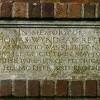 Memorial inscription over village hall entrance, Felbrigg