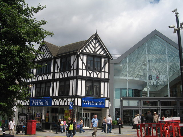 Wigan Town Centre - Old and New