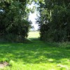 Path opposite Highlanes Farm