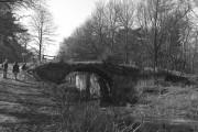 Cowshot Bridge and Lock No 17, Basingstoke Canal