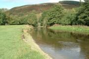 River Teme & Panpunton Hill at Knighton