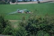 Crop spraying behind the Retail Park