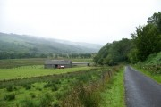 Cattle shed near Kilbridemore, Glendaruel