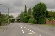 The A1 road bridge Blyth.