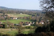 Wonersh from Chinthurst Hill