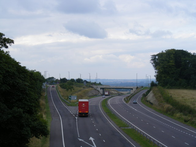 A41 Tring Hill junction