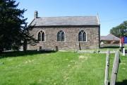 Church on the north edge of Brynna