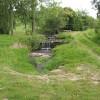 Footpath by a stream