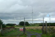 Wind farm at Houstry