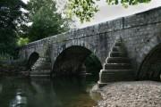 Bridge crossing the River Ogmore at Pen y Fai