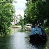 Narrowboats on the Stort