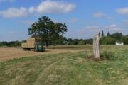 Farmland close to Normanton on Soar