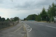 The bridge over the old A1 trunkroad