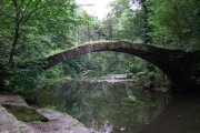 River Goyt and Roman Bridge