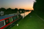 Evening on the Gloucester-Sharpness Canal