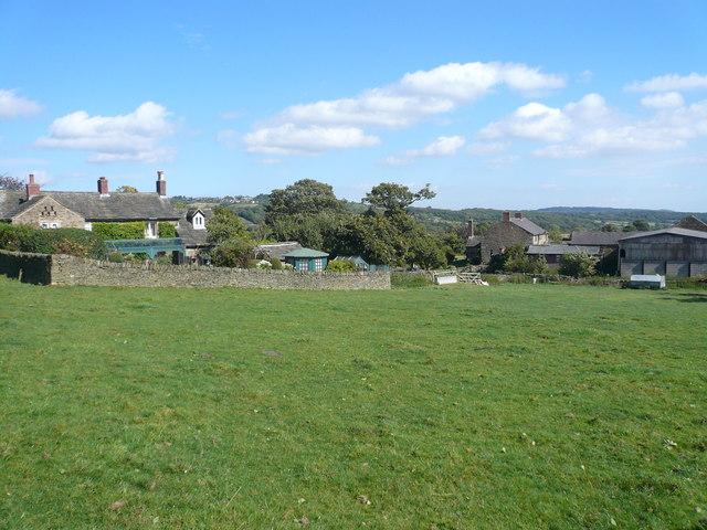 Farmhouses on Unthank Lane