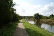 On the Leeds & Liverpool Canal Leigh Branch on Ince Moss