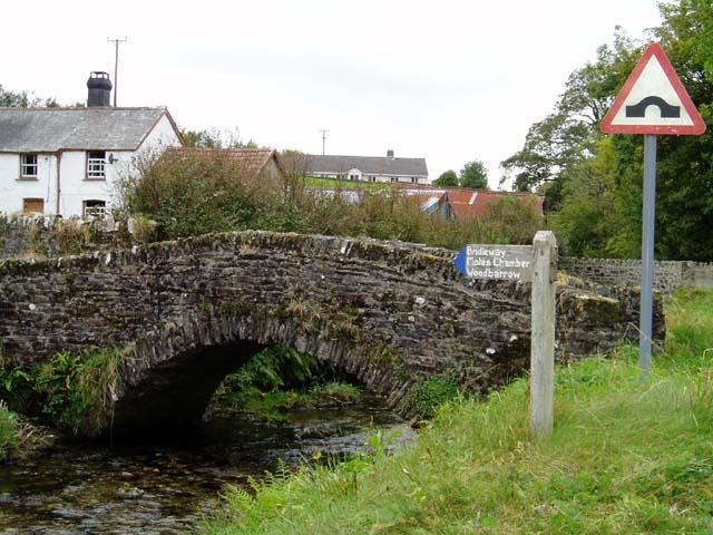 Footbridge at Challacombe