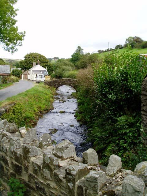 Stream running through Challacombe