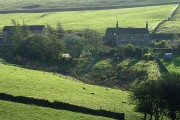 Lower Windyway Farm seen from Buxton Old Road