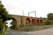 Railway viaduct Walton.