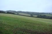 Weyvern Farm towards Caer Licyn