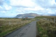 The road to Achnahard from near Ardtun
