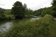 The River Avon below Conham