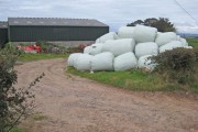 Mountain of bales