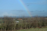 Rainbow over Winterbourne