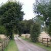 Driveway to Drayton Manor